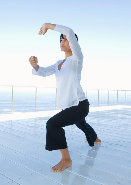 Qigong - Chinese system of physical exercises and breathing control related to tai chi.